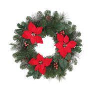 christmas wreaths  holiday wreaths  kmart