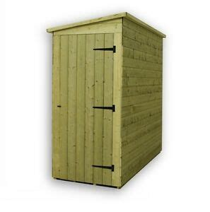 Shiplap Or Tongue And Groove Shed - garden shed 8x3 shiplap pent shed tanalised pressure