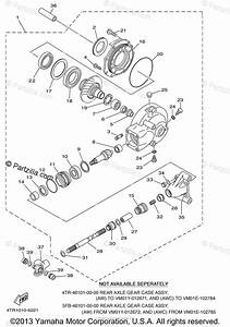 Yamaha Motorcycle 2007 Oem Parts Diagram For Drive Shaft
