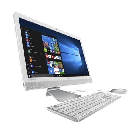ordinateur de bureau windows 7 pas cher asus vivo pc tout en un v221iduk wa032t 21 5 quot fhd 4go de