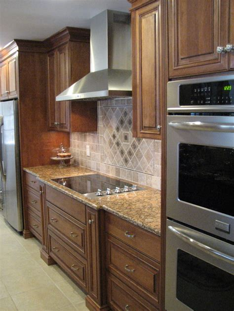 blueprints for kitchen cabinets what is the stain color on the birch cabinets also what 4847
