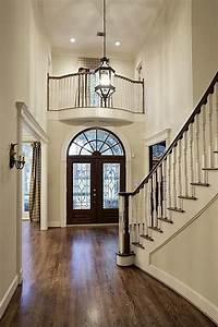 Look at beefed up mouldings around door openings dark
