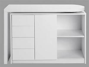 Schreibtisch Mit Stauraum : schreibtisch hochglanz pavel schwenkbar g nstig ~ Eleganceandgraceweddings.com Haus und Dekorationen