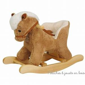 Animal Bascule Bebe : cheval bascule tout sur l animal en bois le blog ~ Teatrodelosmanantiales.com Idées de Décoration