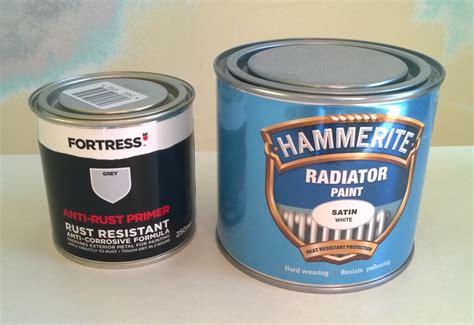 Refurbishing Badly Painted, Rusty Radiator