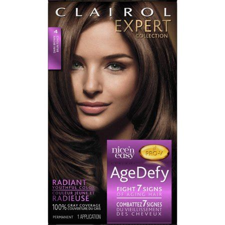 age defy hair color clairol age defy expert collection hair color walmart