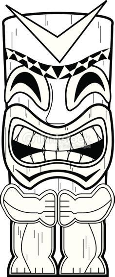 Tiki Totem Templates by Tiki Mask Printable Coloring Pages Coloring Pages