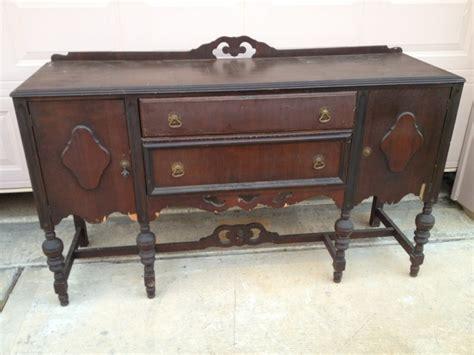 antique buffet table antiques