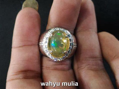 batu cincin kalimaya opal asli kode 704