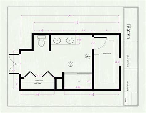 shower master bathroom floor plans with walk in closet