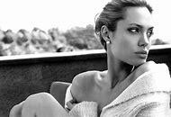 Angelina Jolie Pearl Earrings