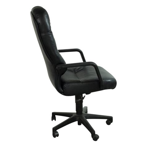 hon pillowsoft used high back leather conference chair