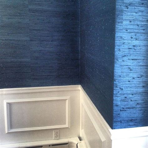 grasscloth bluegrasscloth wallpaper interior designs