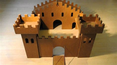 If you are looking for an opulent home with all the space you could ever need, these home plans will fulfill your every wish. wooden toy castle - YouTube