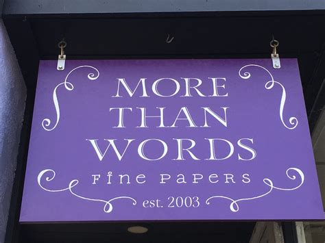 More Than Words Fine Papers - Visit Carnegie