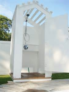 Swimming Pool Outdoor Shower Enclosures