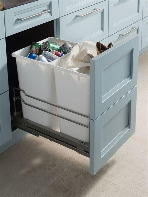 waste baskets for kitchen cabinets waste basket cabinet wood mode custom 8908