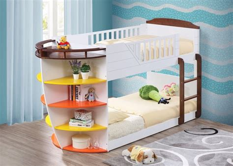 kid loft bed neptune nautical boat bunk bed storage