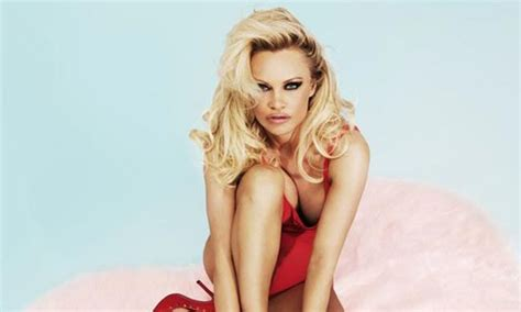 Pamela Anderson Wears Baywatch-style Swimsuit As New Face