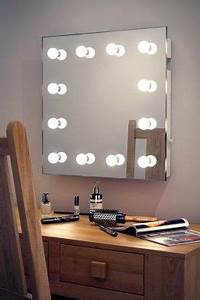 Interrupteur Variateur De Lumiere : miroirs hollywood ip44 montage mural avec interrupteur ~ Farleysfitness.com Idées de Décoration
