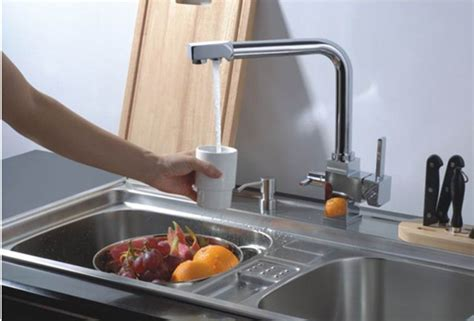 Hot And Cold Water And Ro Filter Brass Kitchen Sink Tap