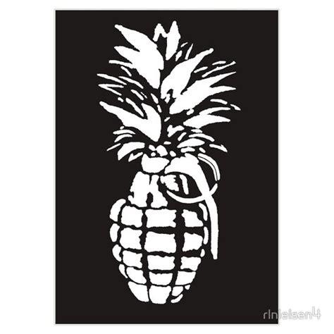 pineapple grenade sticker    stickers  http