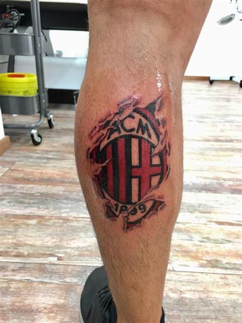 stemma ac milan idee  tatuaggi tatuaggi  idee