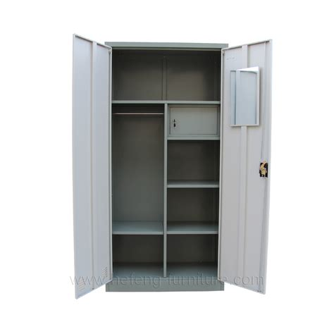 Small Cloth Cupboard by Steel Clothes Wardrobe Drawer Luoyang Hefeng Furniture
