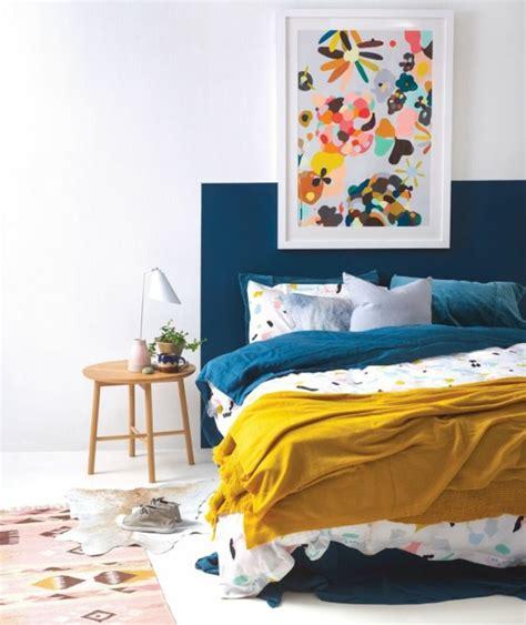 bleu chambre deco chambre mur bleu canard raliss com