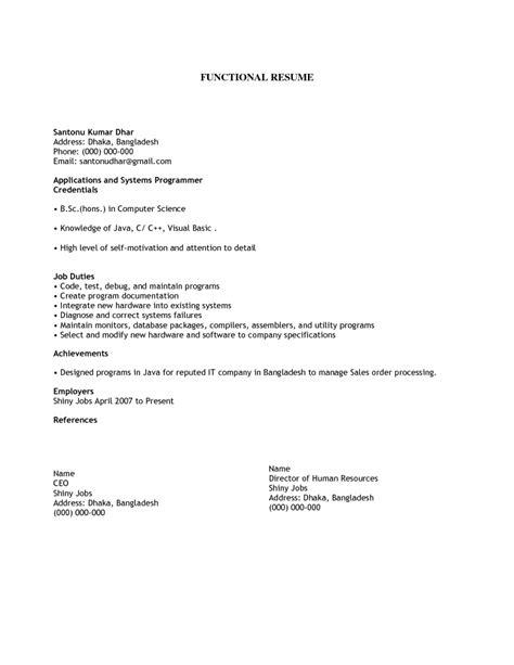 19536 simple resume format exles simple resume sles template resume builder