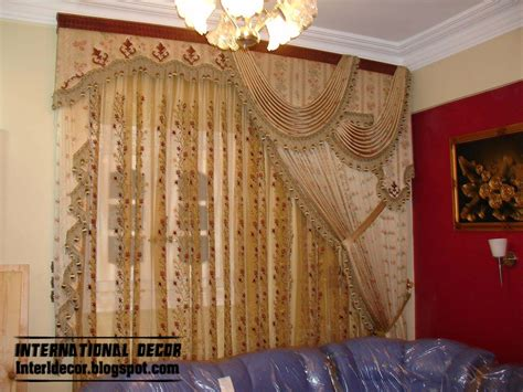 top catalog  luxury drapes curtain designs  living