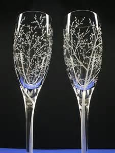 engraved chagne flutes - Wedding Chagne Flutes