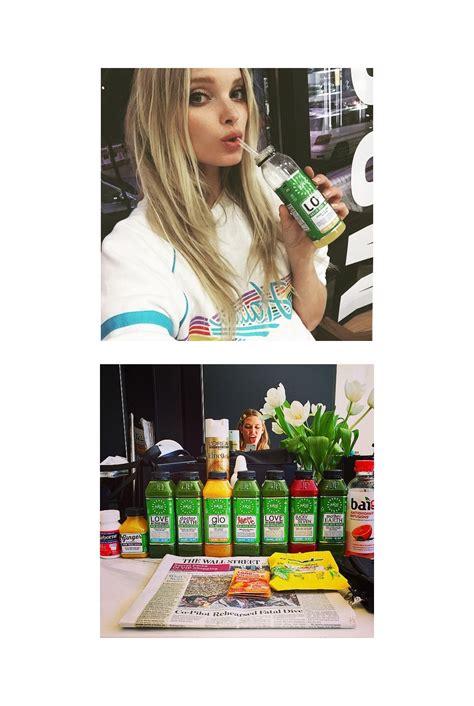 models juice cleanse behati prinsloo elsa hosk karlie