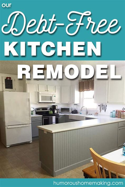 how to paint kitchen cabinets our debt free kitchen remodel debt kitchens and kitchen 8802