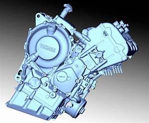 Yamaha R6 Engine Model
