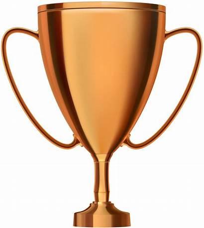 Trophy Bronze Cup Clipart Clip Transparent Golden