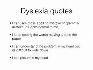 Dyslexia quotes... Learning Difficulty Quotes