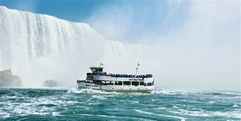 Niagara Falls Boat by Of The Mist Clifton Hill Niagara Falls Canada