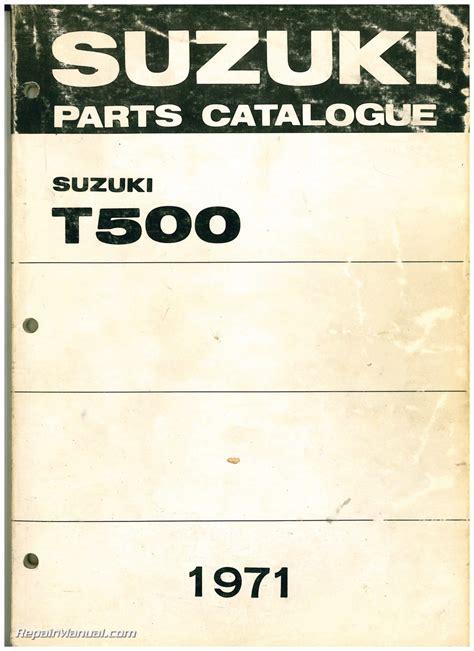suzuki  titan  stroke motorcycle parts manual