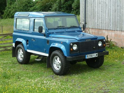 1997 land rover defender 1997 land rover defender 90 delivered to julian in the