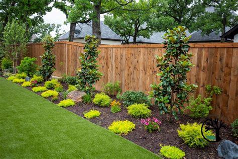 modern  yard install colleyville texas landscape