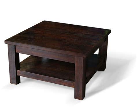 Indoor Antique Finish Teak Wood Coffee Table-lindsey Teak