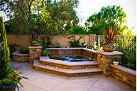 lovely patio design ideas photo gallery Elegant Backyard Hot Tub Designs | Home Design