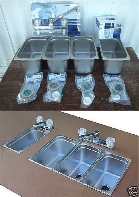 three compartment sink set up 3 compartment sink for a small food trailer food truck