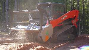Uml Ssl Kubota Universal Skid Steer Forestry Mulcher Video