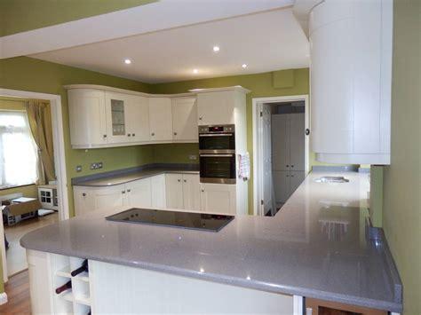 Kitchen Worktops by Technistone Starlight Grey Kitchen Worktops Ccg Worktops