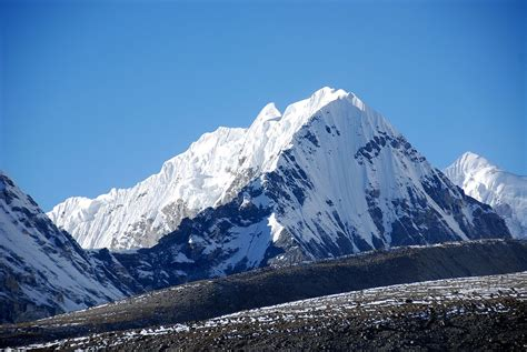 25 Goldum And Langtang Ri Close Up Afternoon From
