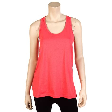 Womens Loose Fit Tank Top 100% Cotton Relaxed Flowy Basic ...