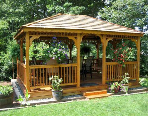 cool backyard gazebo ideas   budget