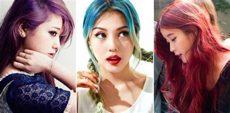 korean hair colour trends  daily vanity